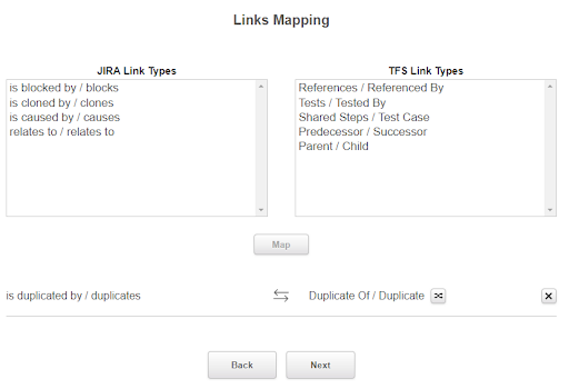 Mapping links img